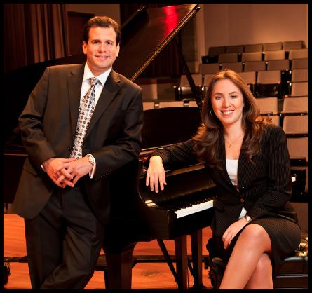 Dr. William Villaverde and Dr. Fabiana Claure