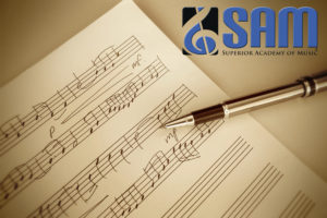 SAM Newsletter with Recital Pictures, Student/Faculty Awards, and Directors' Performance Videos.